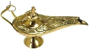 GSM DISTRIBUTION  Brass Aladdin Genie Lamps Incense Burners