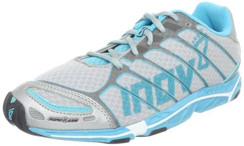 Inov-8 Women's Road -X 238 Running Shoe,Silver/Aqua,10.5 M US
