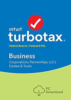 TurboTax Business 2016 Tax Software Federal + Fed Efile PC/Mac