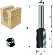 ENT - Fresa para ranuras para fresadora de brazo superior (S8x32-58 Z2 D6, 30 mm, con hoja de base HW)