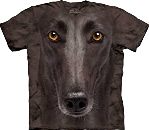 Black Greyhound Face The Mountain Tee Shirt