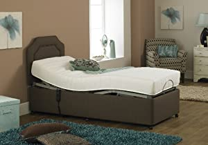 Imperial Opulence Bed with Memory Foam Mattress (3ft x 6ft6) from THE ADJUSTABLE BED COMPANY