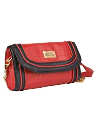 Peprone Women's Sling Bag (Red)