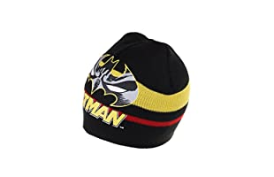 DC COMICS Gorro Batman Stripe (Negro)