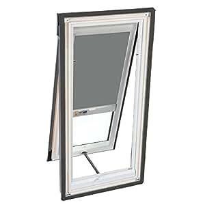 velux dsh m06 0705 skylight blind solar powered blackout for vs vse vss m06 models gray. Black Bedroom Furniture Sets. Home Design Ideas