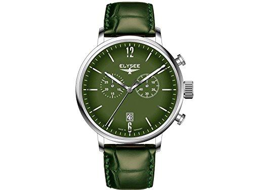 Elysee reloj hombre Classic Stentor cronógrafo 13296