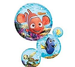 "Nemo & Friends Chain Stack 28"" Mylar Balloon - Disney Pixar Birthday Party"