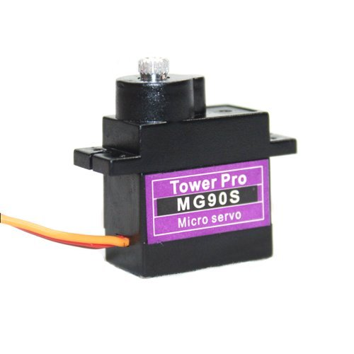 TowerPro MG90S Metal Geared Micro Servo For RC Car Boat Plane Helicopter Trex450