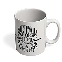 PosterGuy Heavy Metal For Life Heavy Metal , Life , Metal Head , Music Mug