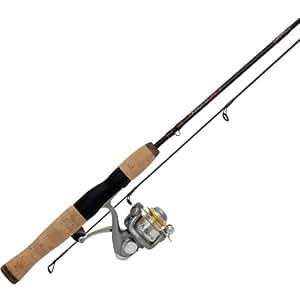 Quantum fishing qmicro qm05f 461ul fishing rod and reel for Amazon fishing rods and reels