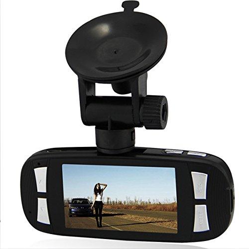 "Lgi Original Dashboard G1W Full Hd 1080P Dash Cam Car Security Video Camera 2.7"" Dvr Recorder Night Vision Wide Angle 4X Zoom H.264 + Novatek 96650 Chip + Ar0330 Len + G-Sensor Black"