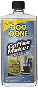 Amazon.com: Goo Gone Coffee Maker Cleaner, 16 Fluid Ounce: Health & Personal Care