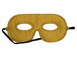 10 Abracadabrazoo Superhero Yellow Satin Masks