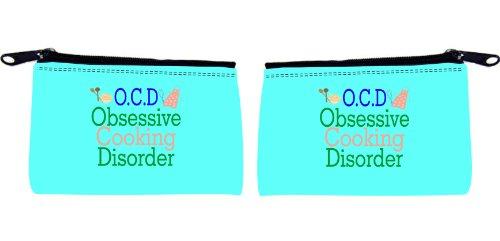Rikki Knighttm O.C.D. Obsessive Cooking Disorder Scuba Foam Coin Purse