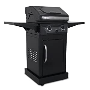 Char-Broil Classic C-220 Propane Gas Grill, Black