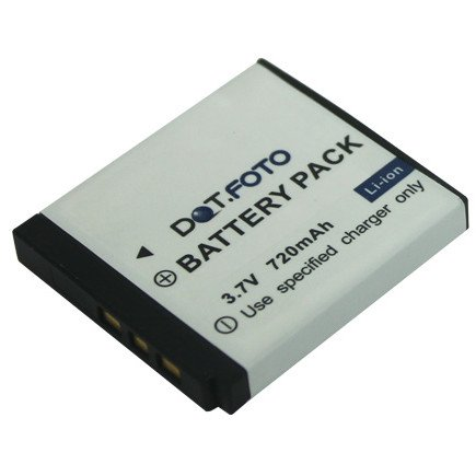 Dot.Foto Qualitätsakku für SilverCrest Emore Type NP40 - 3,7v / 720mAh - Garantie 2 Jahre - 100% kompatibel