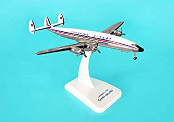 China Airlines L-1049 maquette avion échelle 1:200