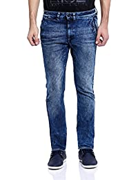 Blue Saint Men's Blueberry Slim Fit Jeans
