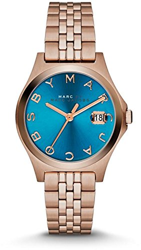 Marc By Marc Women'S Mbm3324 The Slim Turquoise Dial Face Analog Watch