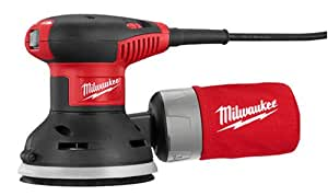 Milwaukee 6021-21 Random Orbit Palm Sander with dust collection bag
