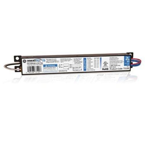 Ge Lighting 73199 Ge259Max-L/Ultra 120/277-Volt Ultramax Electronic Fluorescent T8 Multi-Volt Instant Start Ballast 2 Or 1 F96T8 Lamps