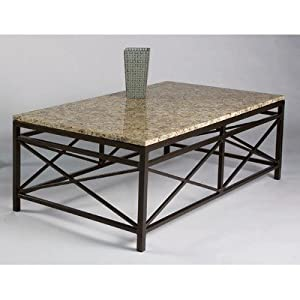 Campaigne contemporary coffee table table top for Caprice marble dining table