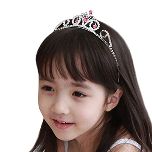 Simplicity® Wedding Party Headband Kid Girl Tiaras Crowns w/ Crystal Rhinestone