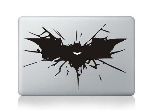 Apple Macbook Decal Sticker Skin-Batman Crash