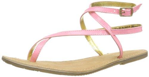 Ilse Jacobsen - Sandali flache Damen Sandale, URBAN64, Größe 41, 422 Sunny Lime, Donna, Rosa (Pink (Cherry Blossom 318)), 36