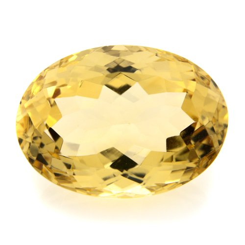 Natural Yellow Citrine Loose Gemstone Oval Cut 13.10cts 18*13mm VVS Top Grade