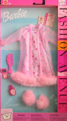 Barbie Lingerie Fashion Avenue Clothes w Faux Fur (2002)