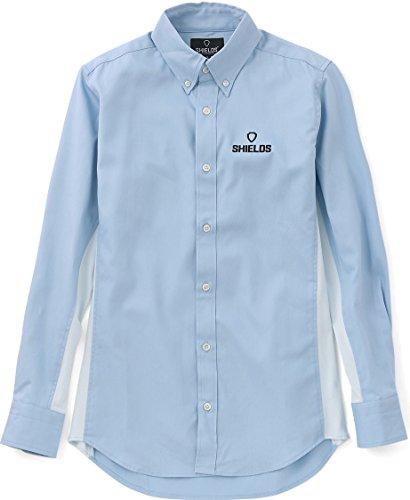 SHIELDS(シールズ) Foot Golf フットゴルフ ボタンダウンシャツ SHFG-1503 サックス S