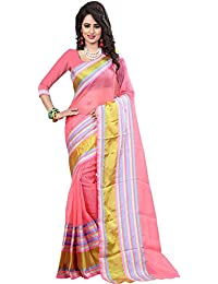 Aracruz Women's Cotton Silk Saree (ARAFLightPink_Light Pink)