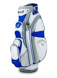 Callaway Golf Women's Sport Cart Bag, White/Silver/Blue