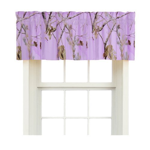 Realtree Ap Lavender Valance front-1008069