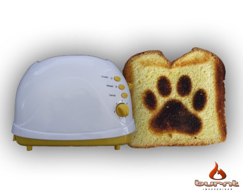 Dog Paw Toaster (Yellow) front-301758