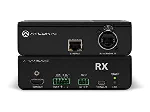 Atlona AT-HDRX-ROADNET RS-232 HDBaseT RX HDMI Cable Rental/Staging Box with Ethernet