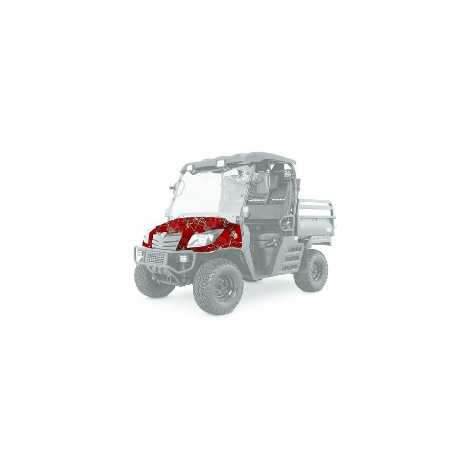 Camowraps PUVKCAR Premium Utility Camouflage ATV Wrap Kit with Realtree APC Pattern