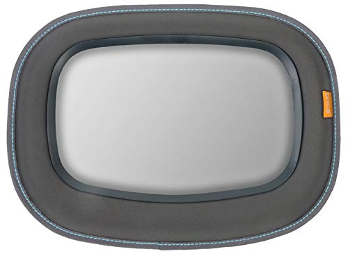 Brica Vivid Reflection Baby In-Sight Car Mirror, Crash Tested and Shatter Resistant