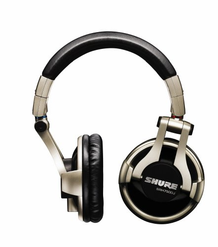 Shure SRH750 DJ Headphones (Black)