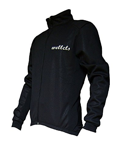 Wellcls Windproof Cycling Jacket Bike Bicycle Wear Fleece Winter Thermal (Large) (Thermal Bicycle Jacket compare prices)