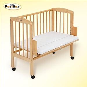 FabiMax cuna de colecho CLASSIC, incluye colchón por FabiMax GmbH