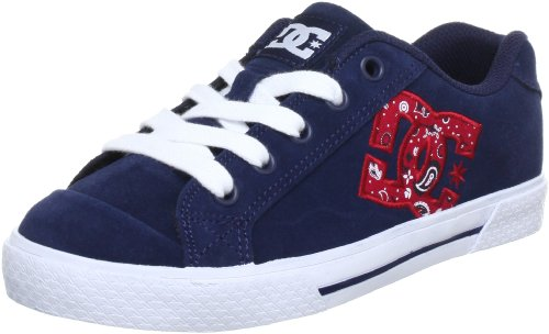 DC Shoes CHELSEA LE WOMENS SHOE Trainers Womens Blue Blau (NAVY/RED) Size: 3.5 (36 EU)