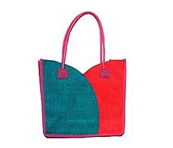 The Rogue Studio Women's Jute Multi-Colour Bag (Tiblpk02)