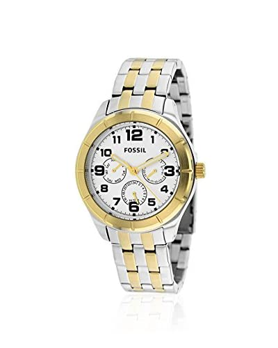 Fossil Men's BQ1410 Classic Two Tone Silver/Gold Tone/Silver Stainless Steel Bracelet Watch