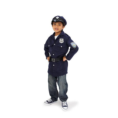 Imaginarium Kid Police Officer Dress Up Set with 5 accessories