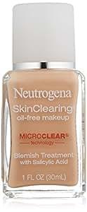 Neutrogena SkinClearing Liquid Makeup, Natural Ivory 20, 1 Ounce