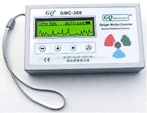 Nuclear Radiation Detector Data Recorder GQ GMC-300 Beta Gamma X Ray Detection Geiger Counter