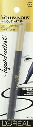 L'Oreal Paris Voluminous Mistake-Proof Marker Eyeliner - Black