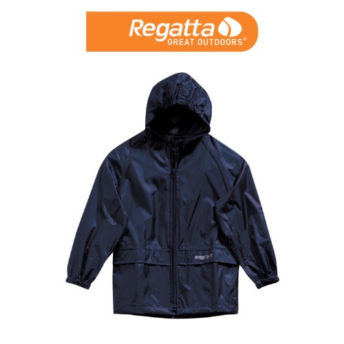 Regatta Stormbreak Childrens Fully Waterproof Jacket - 2 Colours (Age 7/8, Navy Blue)